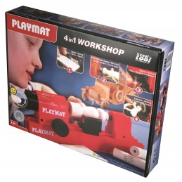 Playmat 4 in 1 Workshop